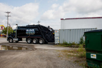 bds tire recycling truck